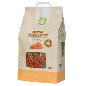 Bergwiesen Heu Premium Karotte